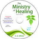 The Ministry of Healing | mp3 CD image